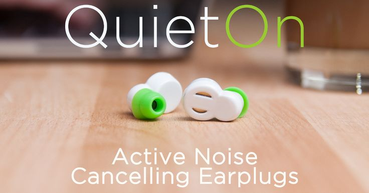 QuietOn earplugs reduce noise to create silence. No wires, comfortable to use and easy to carry. | Indiegogo.