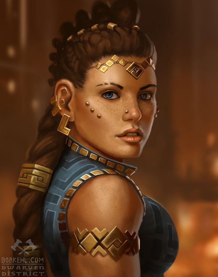 Dwarven Princess by BobKehl on DeviantArt