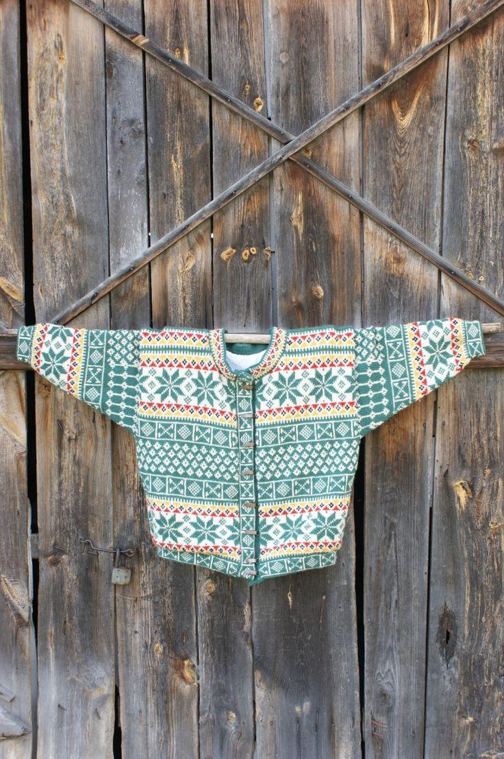 gruby ciepły sweter na pochmurną jesień od Kingdom of Vintage