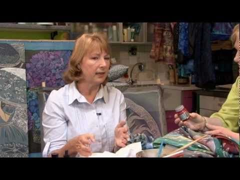 Silk Painting with Jill Kennedy  Very good, 33 min intro to silk painting.