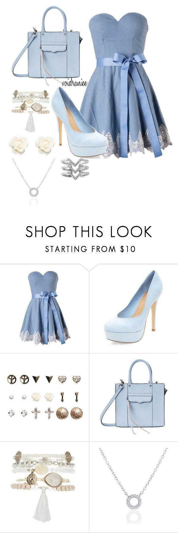 """""""Untitled #99"""" by voidraniee on Polyvore featuring Wet Seal, Rebecca Minkoff, Monsoon, Adina Reyter and Stella & Dot"""