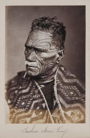 Tawhiao - Maori King  Portraits