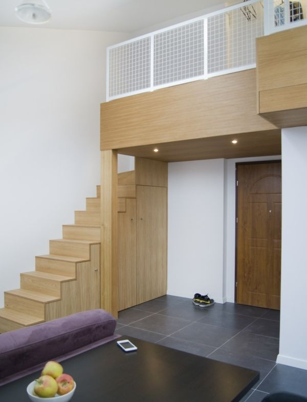 Jak Urzadzic Kawalerke Z Pomyslem Mini Antresola Wp Pl House Styles Home Decor Home