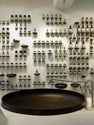 Inside the Aesop retail store
