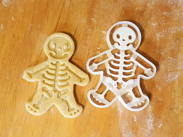 Halloween – Skeleton Cookie Cutter – a unique product by Protonik on DaWanda
