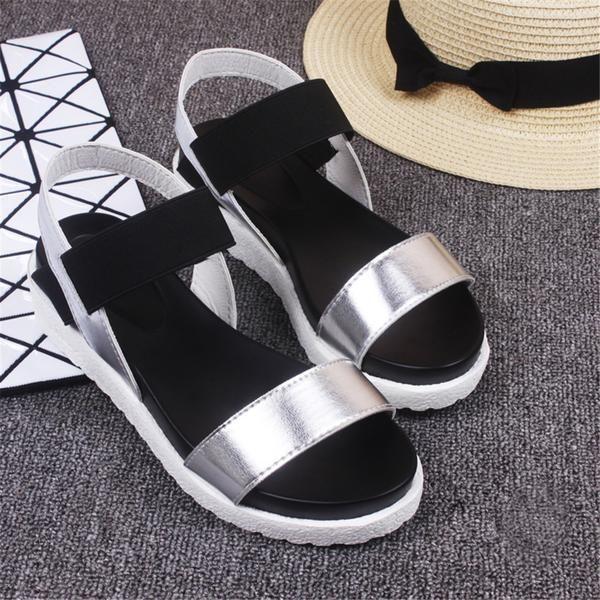 Hot Sale Women sandals women Summer shoes peep-toe flat Shoes Roman sandals mujer sandalias Ladies Flip Flops Sandal Footwear