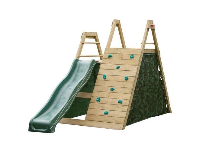 Plum Climbing Pyramid | Houten speeltoestel | NuBuiten