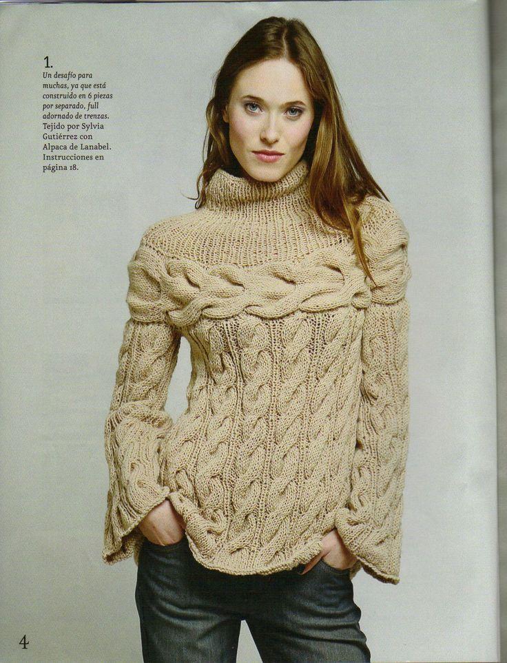 Una página donde encontrarán una variedad de tejidos a palillos o dos agujas y también a crochet.