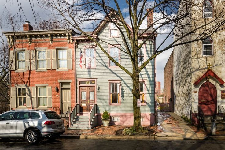 Charming historic home with curb appeal asks $189K - Curbedclockmenumore-arrow : The 1840s home is located in Trenton's Mill Hill neighborhood