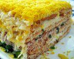 """Царский салат """"Неаполь"""" без особой возни"""