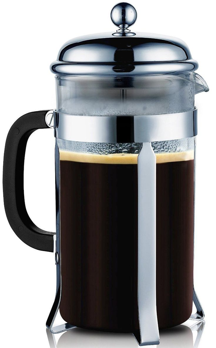 Bed bath beyond french press - Glass French Press Coffee Maker Chrome By Sterlingpro