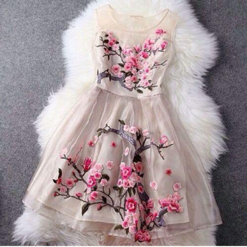 Cute cherry blossom dress!