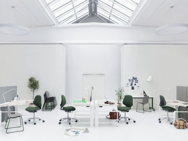 RH Mereo is perfect for workplaces where several people use the same office chair. #InspireGreatWork #design #ergonomics #office #chair