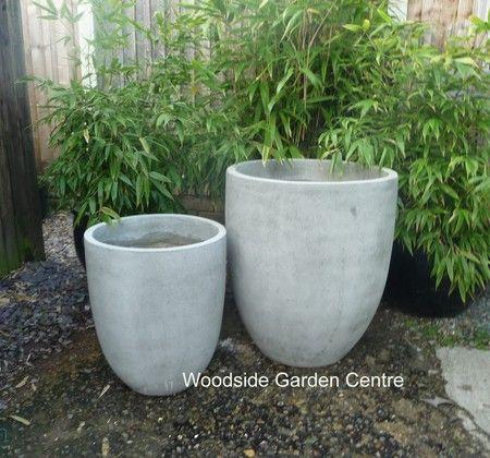 Riverstone Lightweight U Planter Garden Pot | Woodside Garden Centre | Pots to Inspire