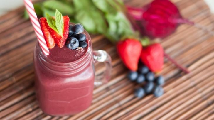 A recipe to try for your Nutribullet: Danielle Colley's beet and berry blast smoothie.