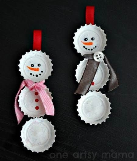 Te dejamos una excelente idea para crear adornos de Navidad con materiales reciclados.