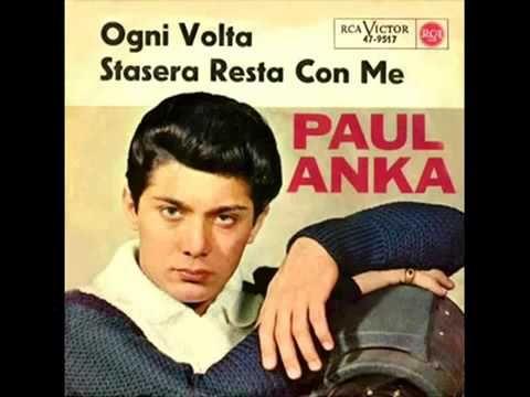 Paul Anka - Stasera resta con me - 1964 - YouTube