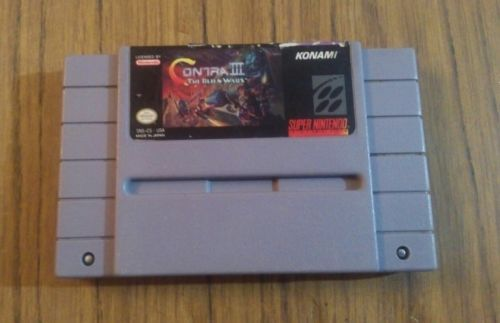 Contra III The Alien Wars SNES (Super Nintendo Entertainment System): $48.78 End Date: Thursday Apr-5-2018 23:55:54 PDT Buy It Now for…