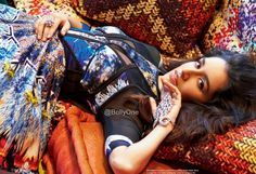 ABCD2 Actress Shraddha Kapoor is the new cover girl of the entertainment magazine Hello India July 2015. She started her career as a role of college girl f