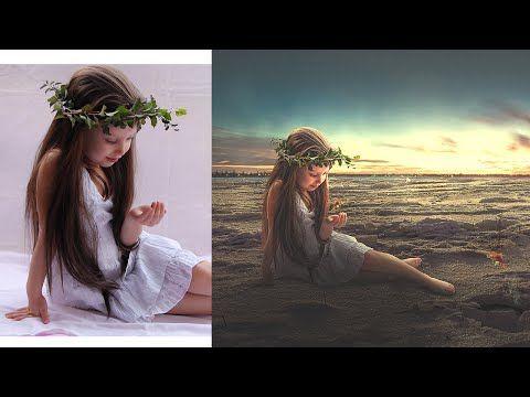 Photoshop Manipulation Tutorial   Photo Effect, Mixing & Blending - YouTube