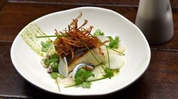 Kingfish with Blue Swimmer Crab Broth