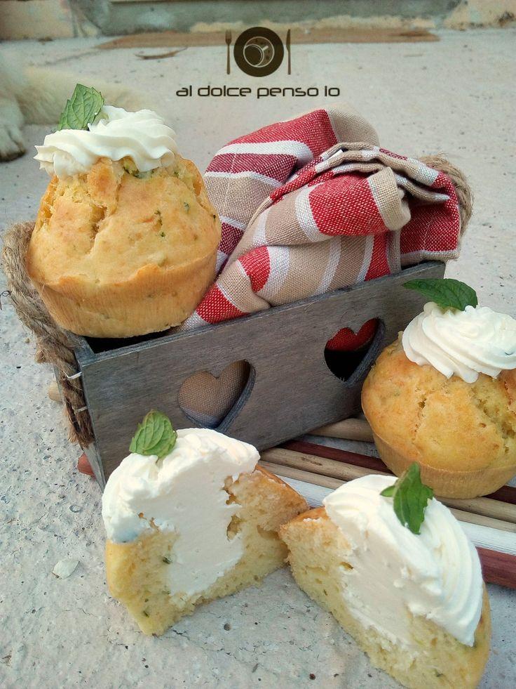 cupcake di zucchine con crema al formaggio | al dolce penso io ...