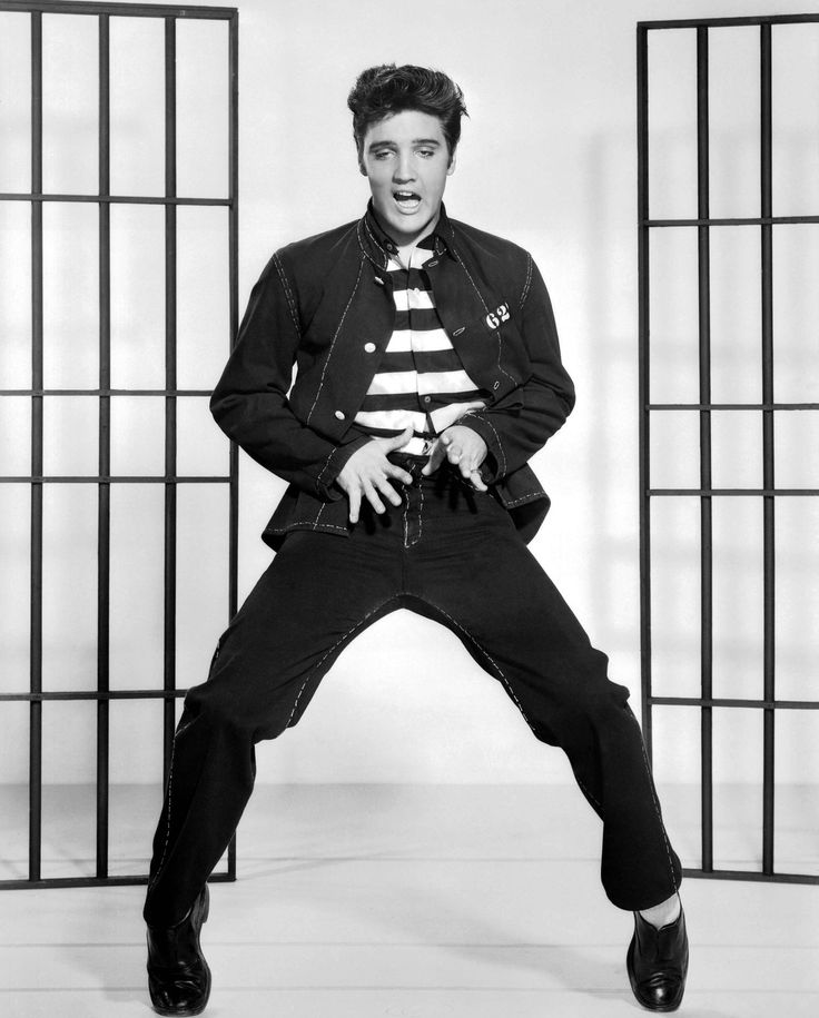 Elvis starred in Jailhouse Rock in 1957 and fans were nuts for his dance in it! I went 4 times just to see him do that dance