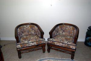 Ethan Allen Tub chairs