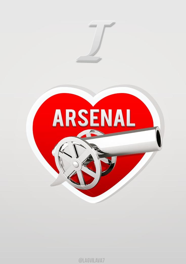 Twitter / Lagvilava7: I #heart Arsenal ...