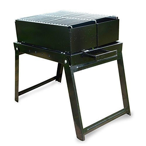 special offers charcoal bbq grill stainless steel portable folding charcoal grill for cookouts - Stainless Steel Charcoal Grill