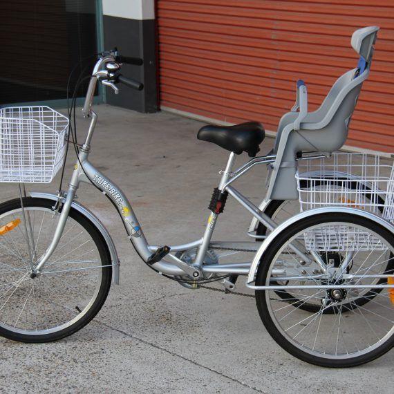 Trike Bike Baby Seat In 2020 Bike Baby Seat Baby Seat