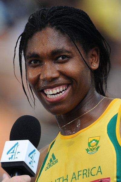 Caster Semenya - win gold 2012
