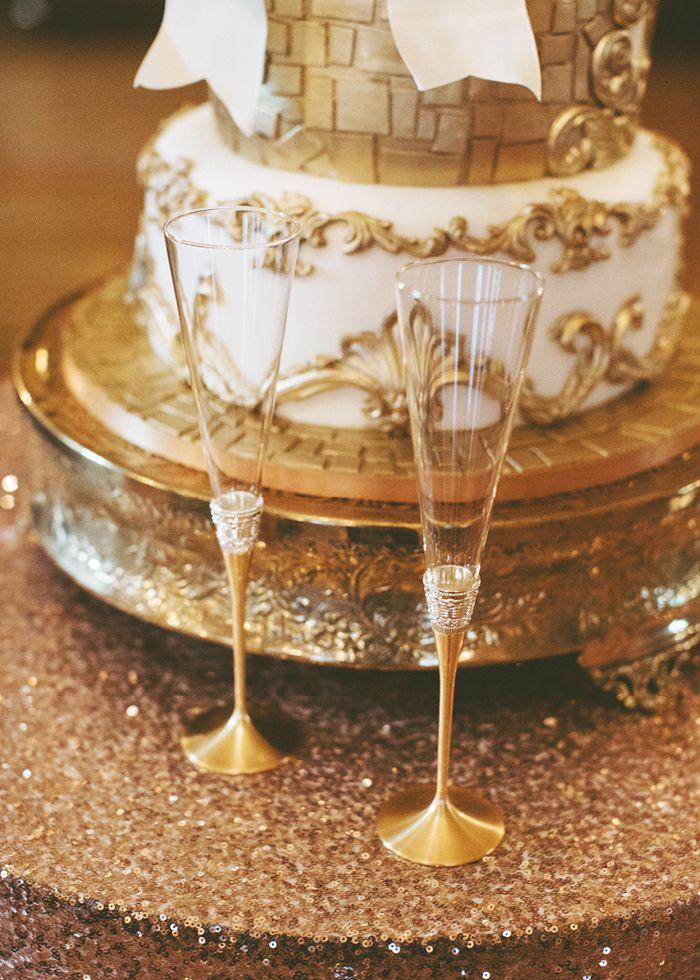 Elegant cakes for an elegant venue! Photo courtesy of Alixann Loosle.