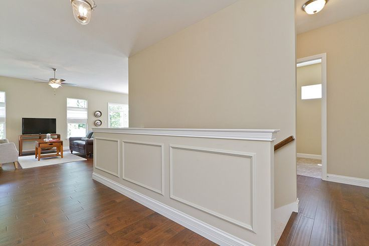 Half walls, Moldings and Staircases on Pinterest | Half ...