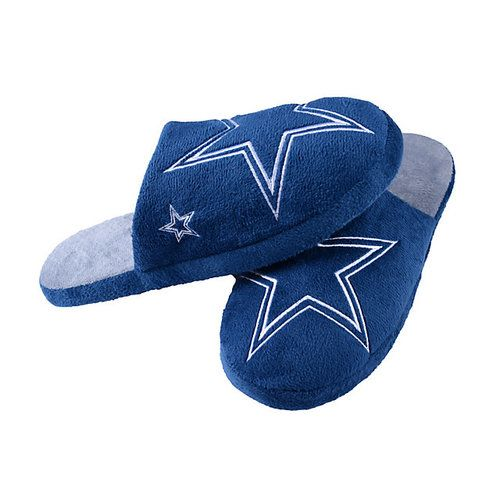 Dallas Cowboys Slipper - Big Logo Stripe - (12pc Case)