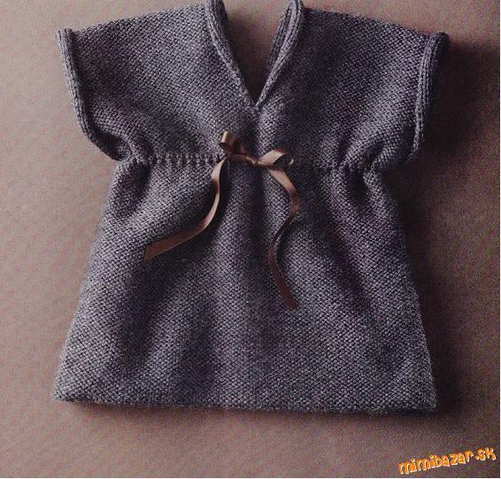 Pletené šatičky