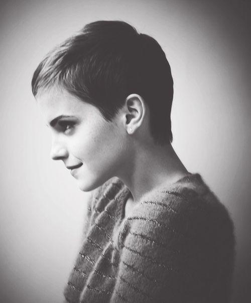 Spring / Summer 2013 Short Hair Styles & Cuts: Emma Watson & Tilda Swinton