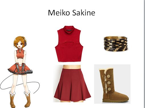 Meiko-chan Inspired Outfit