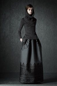 Alberta Ferretti pre Autumn/Winter 2015-16 #Milanfashionweek #precollection15/16 #Autumn #Winter #runway