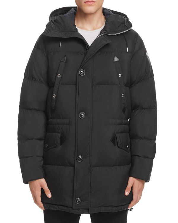 Burberry Hartson Quilted Down Parka