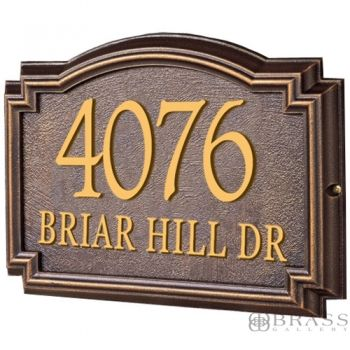17 best images about classic house numbers on pinterest for Classic house number plaque