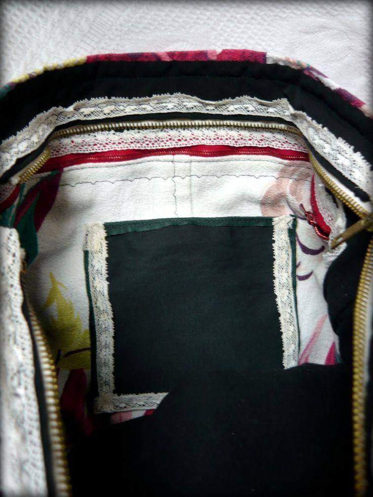 Nyári virágos táska -Handmade by Judy Majoros