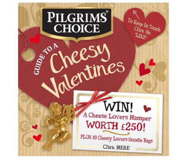 Pilgrims Choice Valentines Facebook promotion