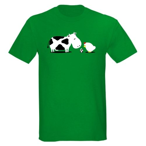 Chicken Lover  http://www.gadgetbox.gr/cow-egg-t-shirt.html