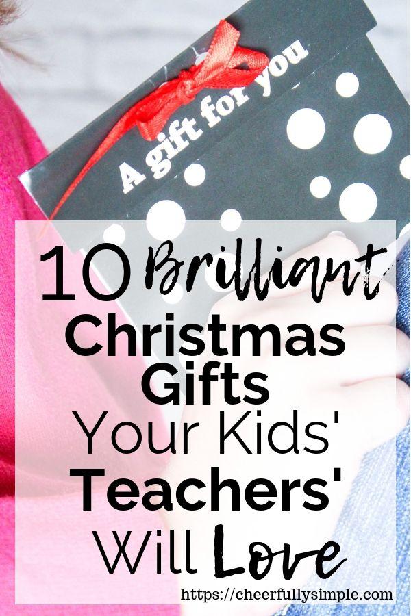 The Best Teacher Christmas Gifts - (from a teacher\u0027s perspective