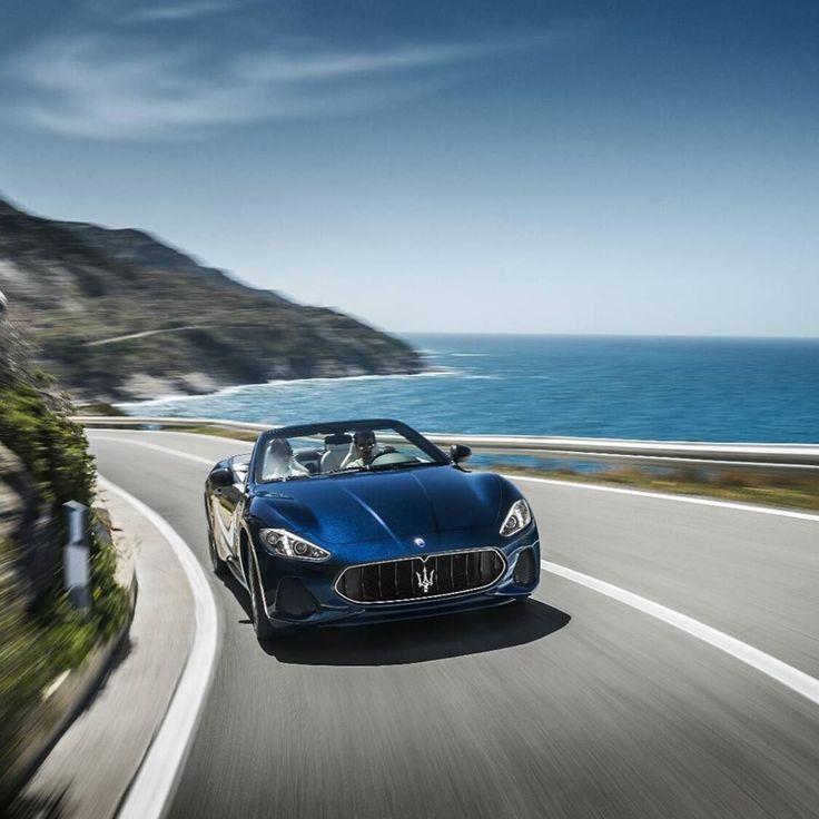 """248 Me gusta, 3 comentarios - Maserati España (@maserati_es) en Instagram: """"Siente como tu alma se estremece con la brisa marina y el cielo infinito en el horizonte.…"""""""