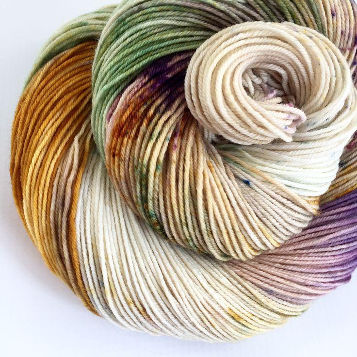Yarn Baby — Mardi Gras Beads