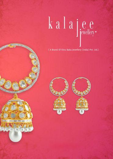 Traditional Jhumka Style !! #jewelry #Jaipur #Kalajee