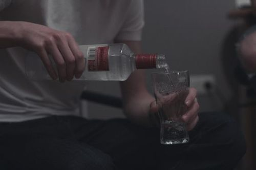 grunge, alcohol, and vodka image