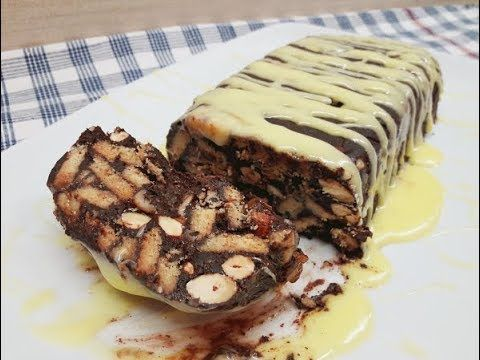 Foodouki   Σοκολατένιος κορμός μπανάνας